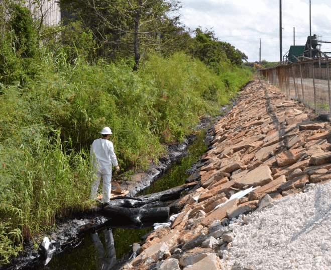 Gulf Coast Asphalt agrees to $1.7 million payout for 2011 oil spill