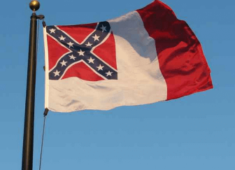 Third National Flag of the Confederate States of America.
