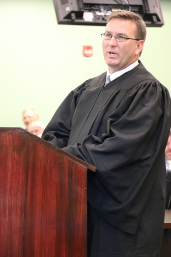 Newly appointed Baldwin County Circuit Court Judge Scott Taylor.