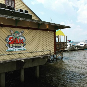 (Photo/ facebook.com/shuxonthepier) Shux on the Pier recently remodeled and reopened the former Yardarm restaurant in Fairhope.