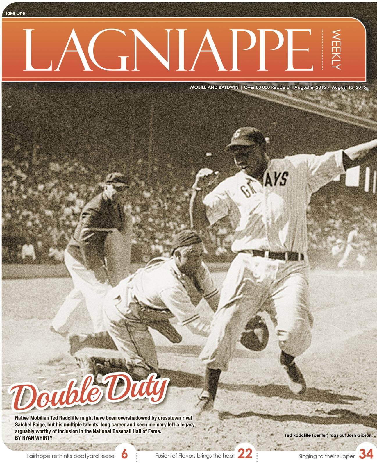 'Double Duty' — Mobile's forgotten baseball hero