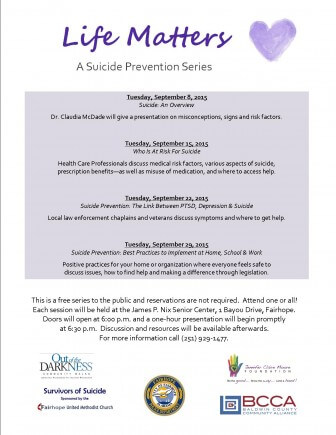 Suicide Prevention Series