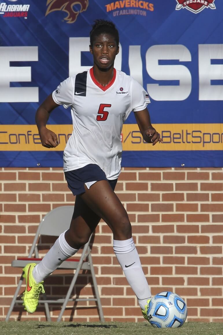 (Bobby McDuffie/USA Athletic Media Relations) The University of South Alabama's Nini Rabsatt-Smith.