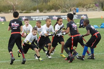 (Photo/ NFL Flag Football) The Senior Bowl is sponsoring the first NFL Flag Football league in South Alabama.