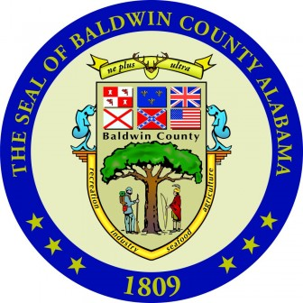 The seal of Baldwin County.