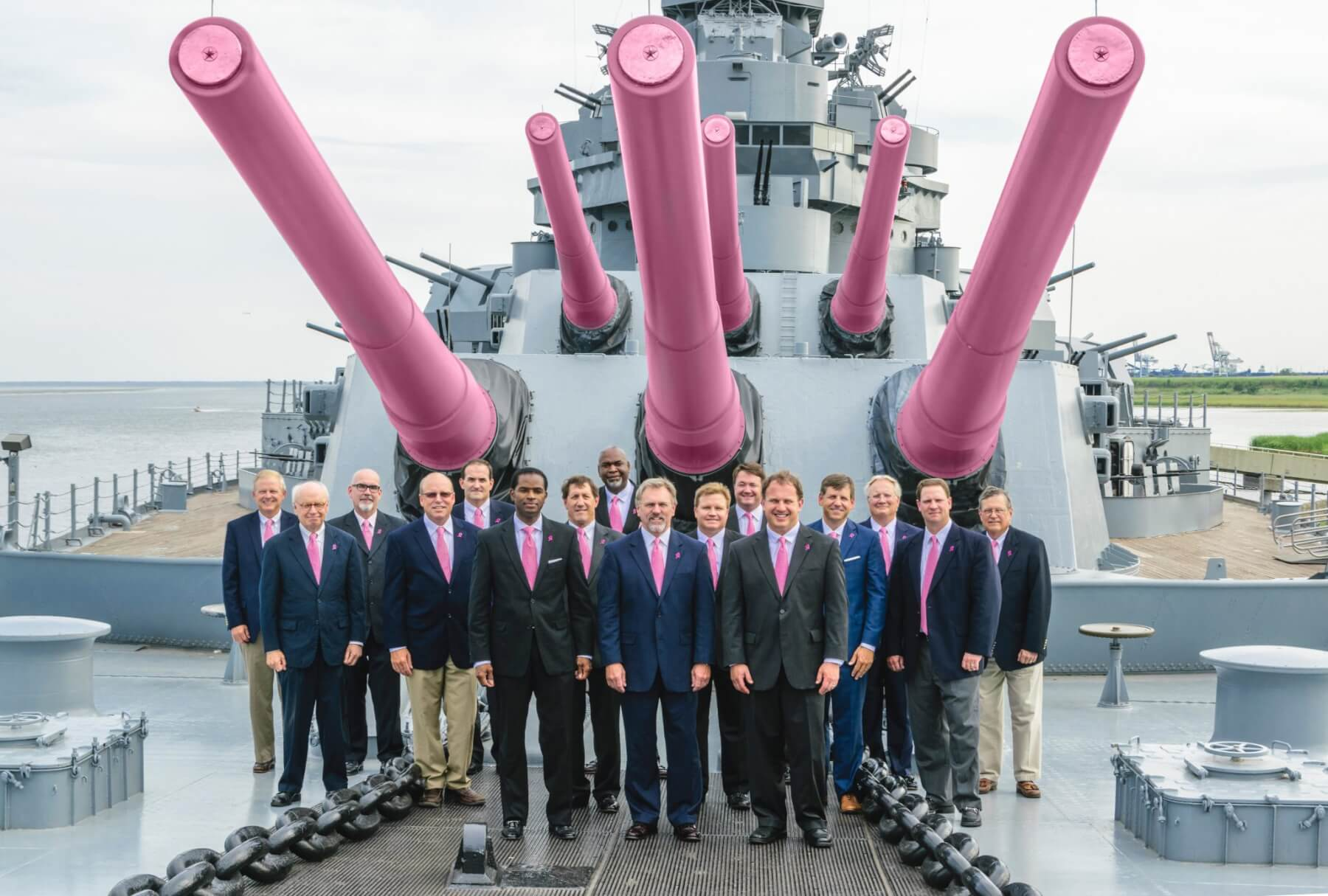 'Real Men Wear Pink' breast cancer campaign begins in October