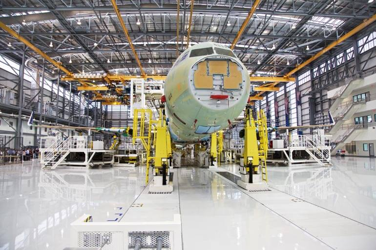 Airbus assembly line inaugurated after years-long odyssey