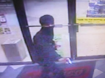 The suspect in a Sept. 10 armed robbery at the CEFCO on Greeno Road is described as a 6-foot-tall, light-skinned black male. (Fairhope police photo)