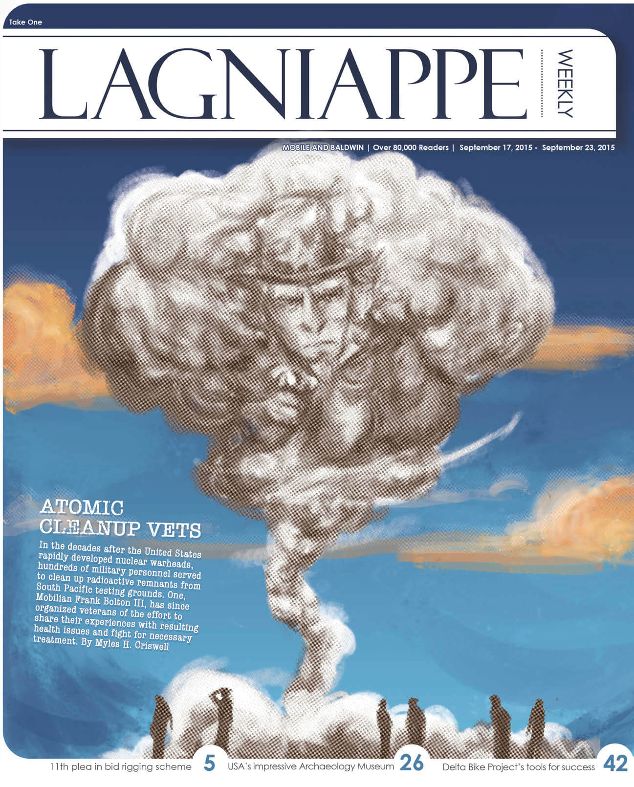 COVER STORY: Local veteran organizes service members affected by nuclear cleanup