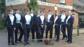 "(Photo/ Film4 | ""The Riot Club"") ""The Riot Club"" is a film full of promise that comes up empty with a weak cast and incomprehensible, boring story."