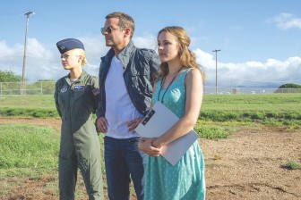 """(Photo/ Columbia Pictures) A superstar cast including Emma Stone, Bradley Cooper, and Rachel McAdams (plus Bill Murray!) couldn't bring rhyme or reason to Cameron Crowe's baffling effort """"Aloha."""""""