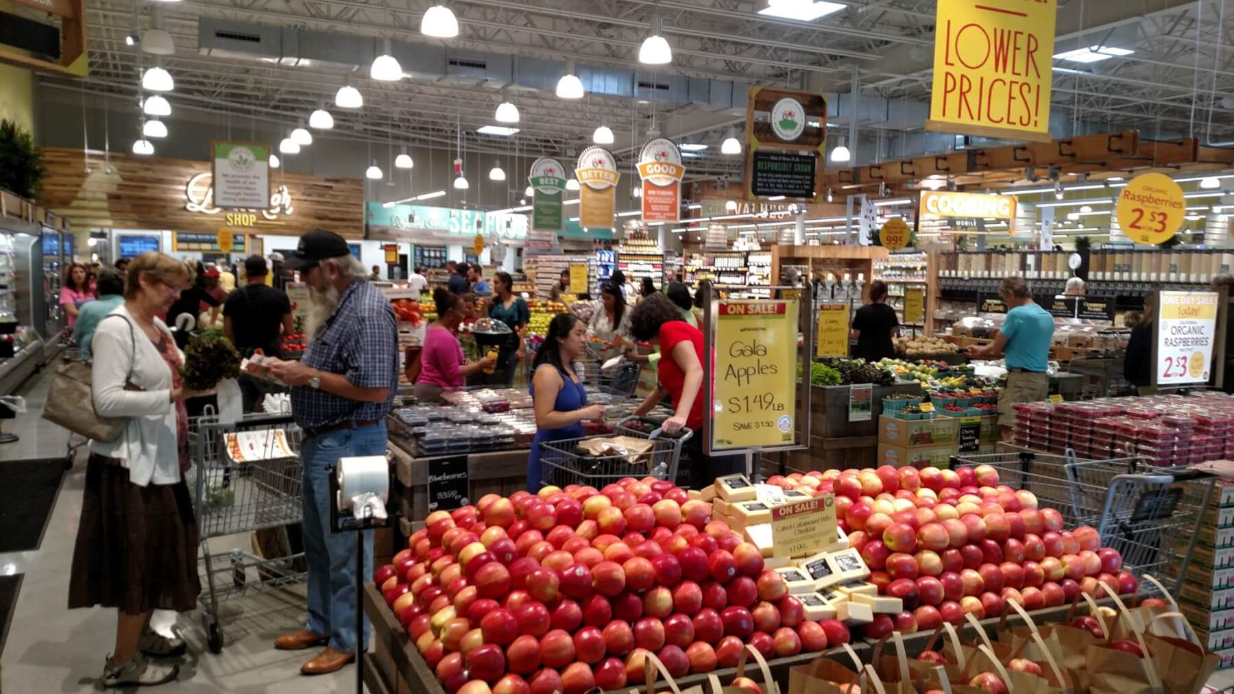 Whole Foods Market opens in Mobile