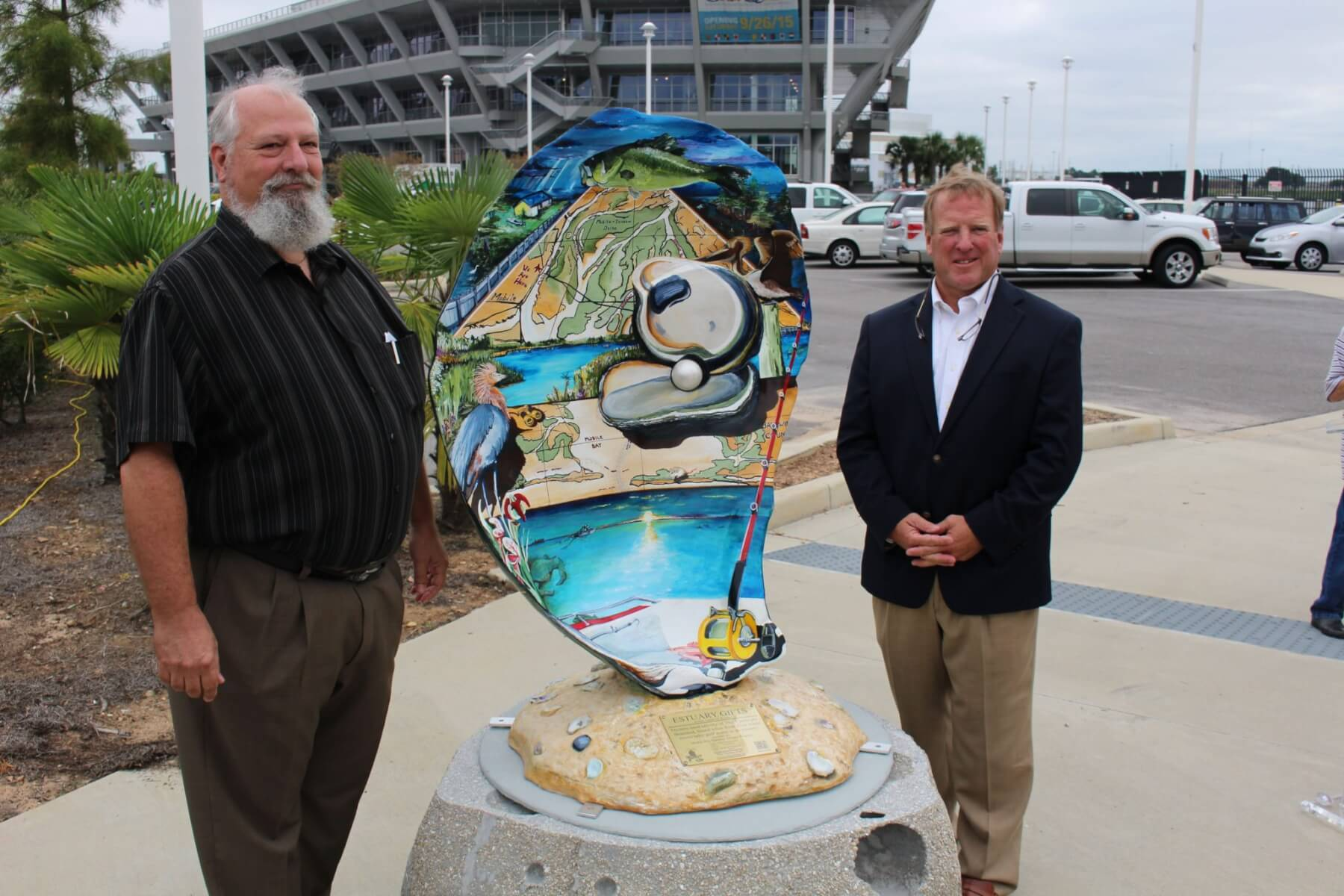 Oyster trail gets new piece of artwork