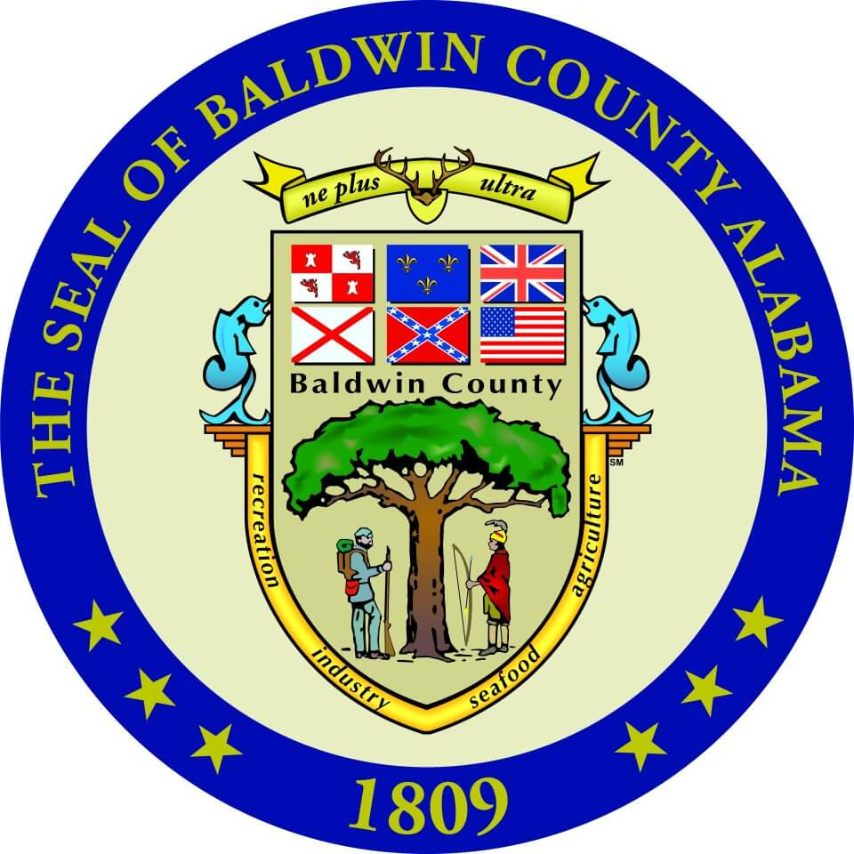 Commissioners eye changes to Baldwin County seal