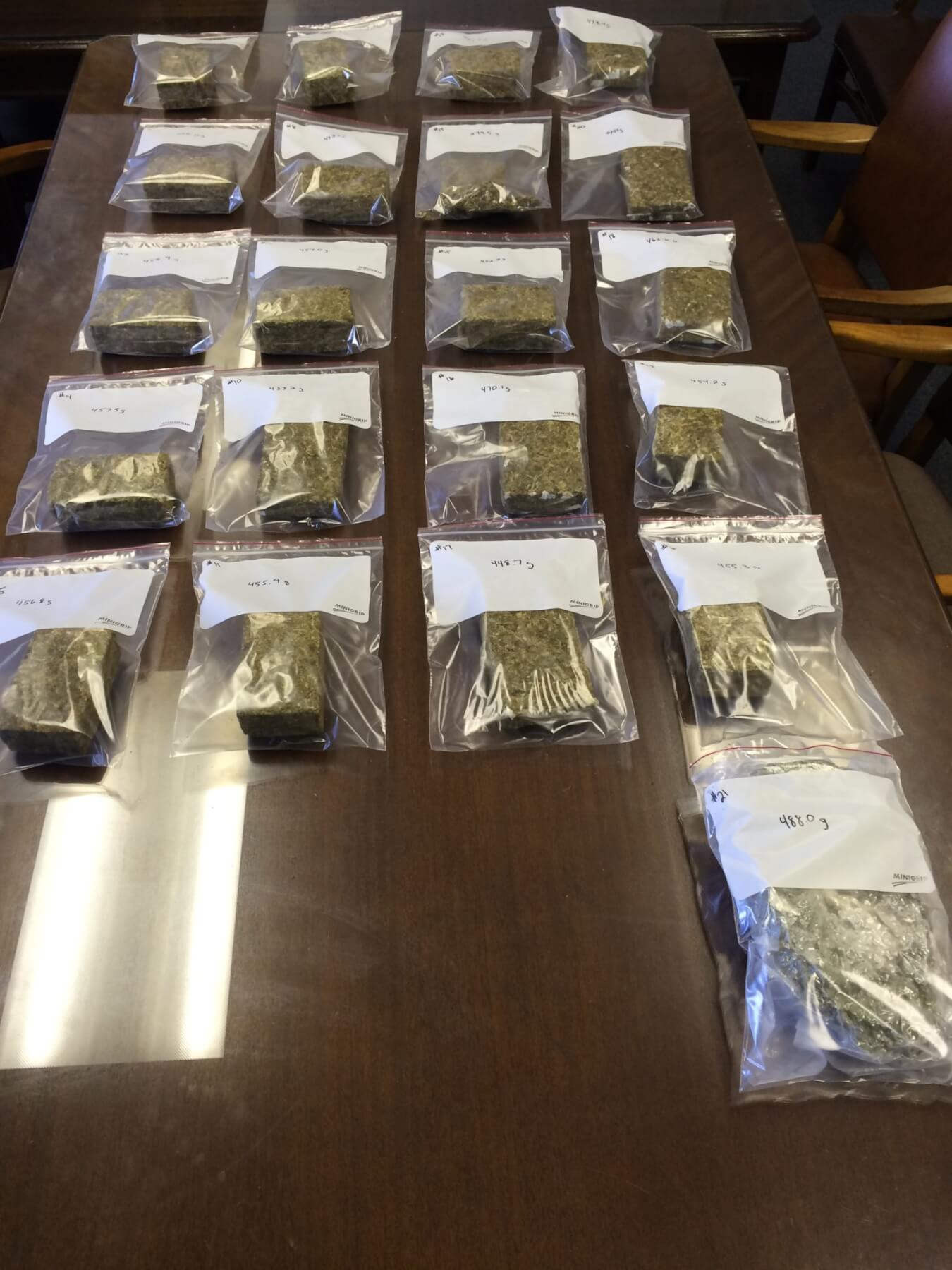 MPD seizes 30 pounds of marijuana
