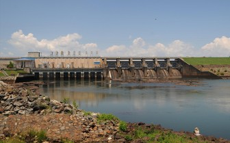 (Photo/ U.S. Army Corps of Engineers) The West Point Lake Dam on the Chattahoochee River.
