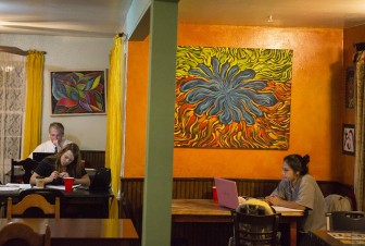 (Photo/ Daniel Anderson/Lagniappe) Satori Coffee House offers more than a fresh cup of Joe. Its menu of traditional cafe food is affordable and satisfying.