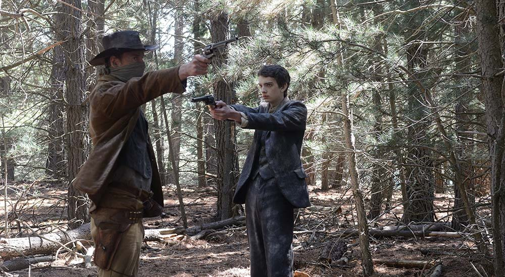 Smit-McPhee shines as a Scotsman in the 'Slow West'