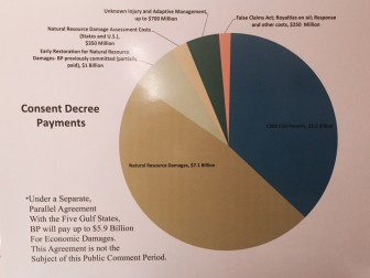 A breakdown of all the fines BP is scheduled to pay in its multiple settlements with the U.S. Government.