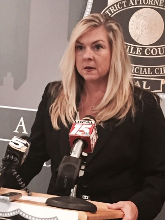 Mobile County District Attorney Ashley Rich.