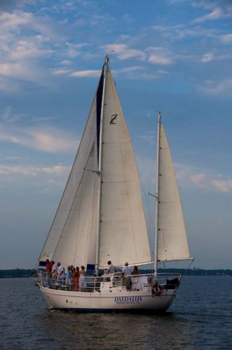 (Photo/Submitted) The local crew of the Daedalus, will be competing against at least 22 other boats in the inaugural Pensacola a la Habana race beginning Sunday.