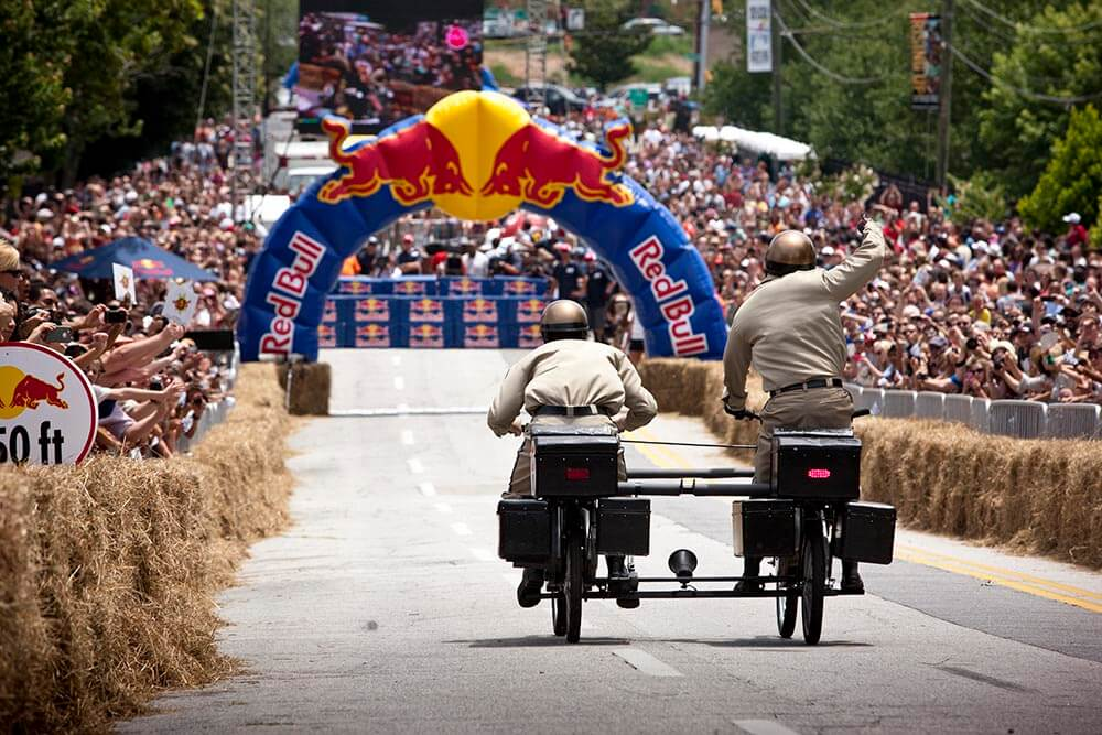 Local engineers, fueled by beer, enter soapbox race