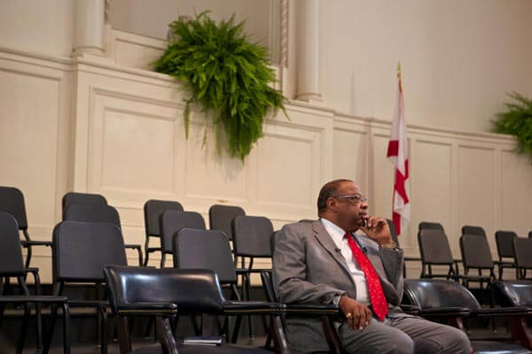 (Daniel Anderson/Lagniappe) The nomination of former Mayor Sam Jones to the board of commissioners at the Mobile Area Water and Sewer System in 2014 resulted in an apparent racial impasse on the Mobile City Council.