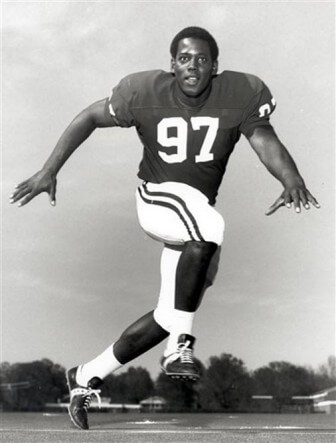 (Photo/University of Alabama) John Mitchell broke the color barrier on the UA football team in 1971.