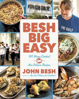 """(Photos/ www.chefjohnbesh.com) Chef john besh's latest cookbook """"Besh big easy: 101 home cooked new orleans recipes"""" offers plenty of single-pot dishes"""