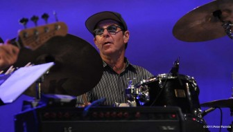 (Photo/Peter Parrella) Former CBS Orchestra drummer Anton Fig will join guitarist Joe Bonamassa at the Saenger Theatre Dec. 2 along with bassist Michael Rhodes and keyboardist Reese Wynans.