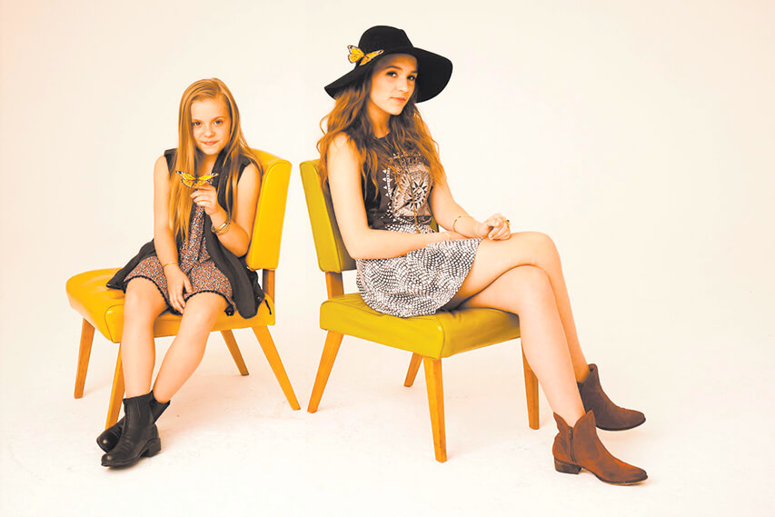 From 'Nashville' to Gulf Shores, Lennon & Maisy spread sunshine