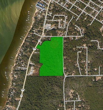 (Photo/Baldwin County Commission) Charles Breland filed suit against the city of Fairhope in 2013 over development restrictions on his 65-acre parcel in Battles Wharf.