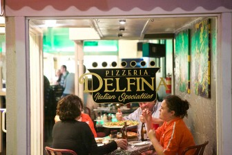 (Photo/ Daniel Anderson/Lagniappe) Pizzeria Delfina is a welcome new Italian option in the heart of downtown, offering pizzas, calzones, salads and pasta.