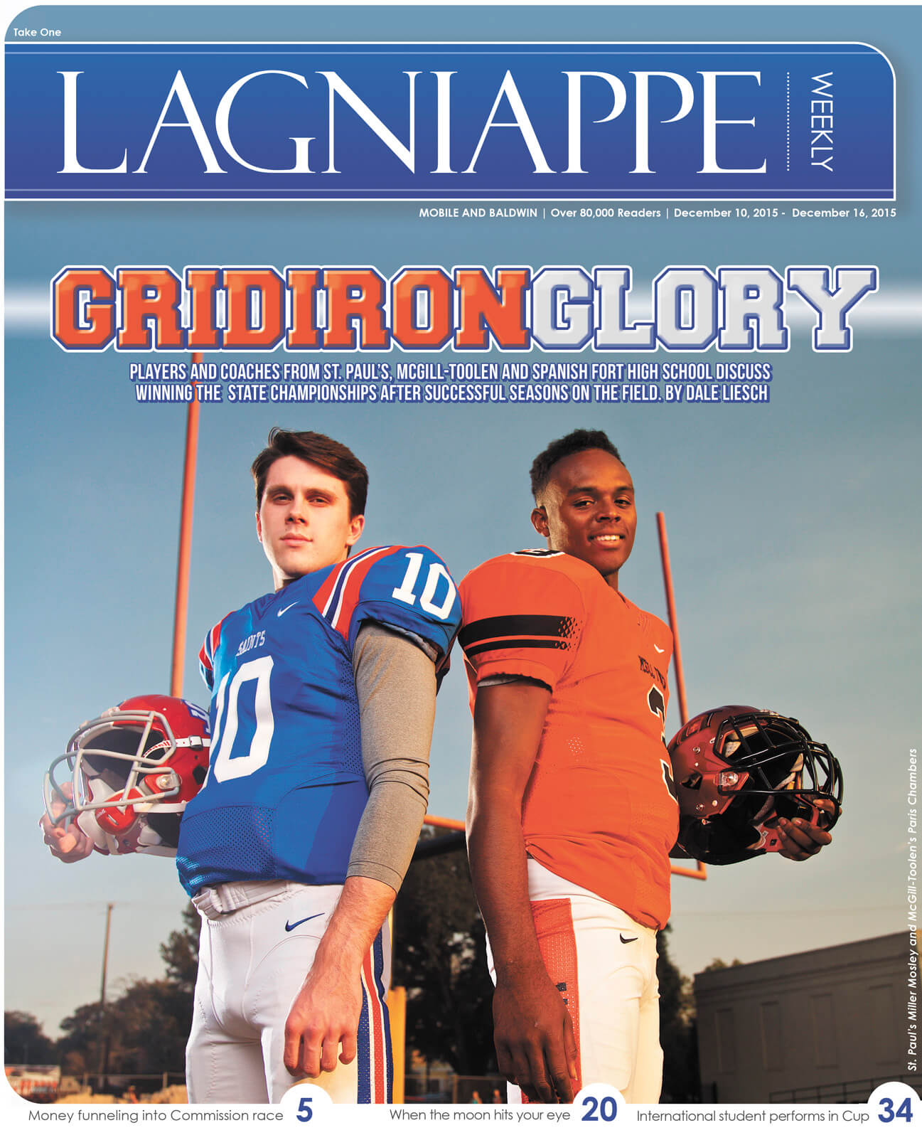 COVER STORY: Prep teams bring home state championships in strong football year for Mobile