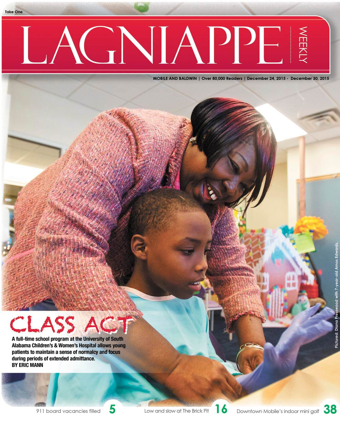 COVER STORY: Class Act teachers give hospitalized children a sense of normalcy