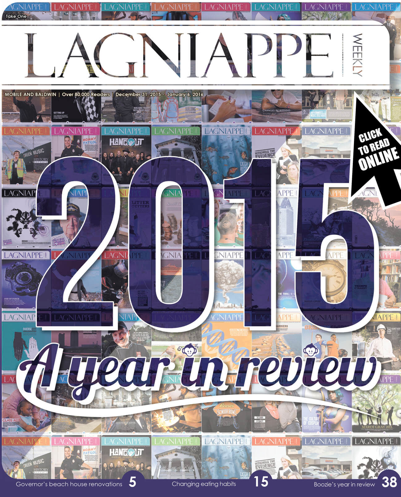 Lagniappe: Dec. 31, 2015 – Jan. 6, 2016