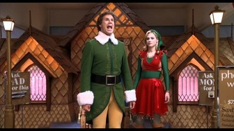 "(Photo/New Line Cinema) Pair those who appreciate the nonsensical Christmas classic ""Elf"" with such gifts as the Human Salt Lick"