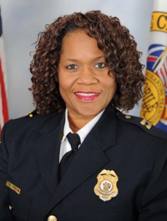 (Photo/MPD) Former MPD officer Carla Longmire is suing for being demoted in 2013.