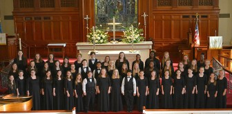 (Photo/facebook.com/mobilesingingchildren) Mobile's Singing Children perform Saturday, Dec. 5, at 7 p.m. at the Cathedral Basilica of the Immaculate Conception in downtown Mobile.