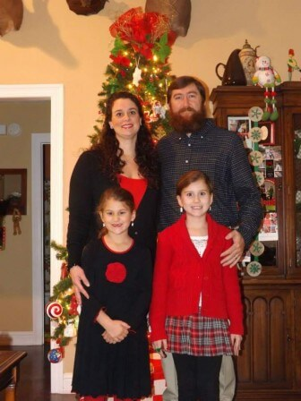 (Photos/ Courtesy of Semmes Women's Club) Miranda and Jason Steadham, along with daughters Annalea, 8, and Coley, 7, will welcome guests into their home Dec. 12 as part of the Semmes Christmas Tour.