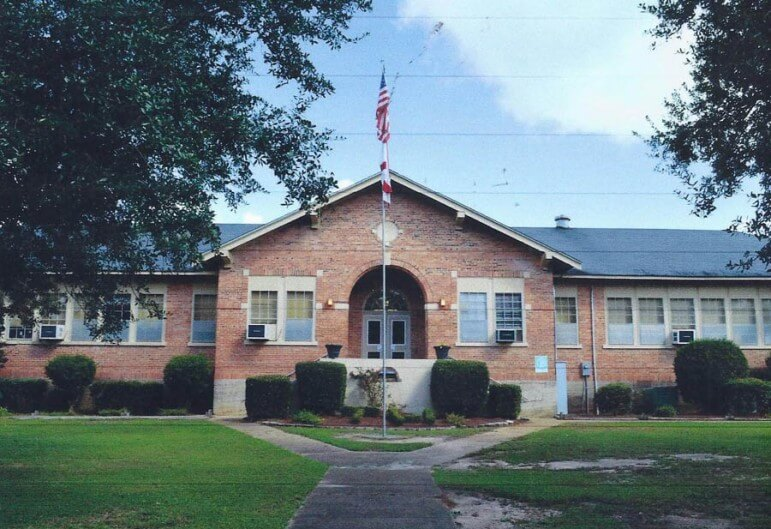(Courtesy of Joyce Byrd) The original Tanner Williams Elementary was built between 1921 and 1922. It will be demolished after construction is complete on a new building next year.