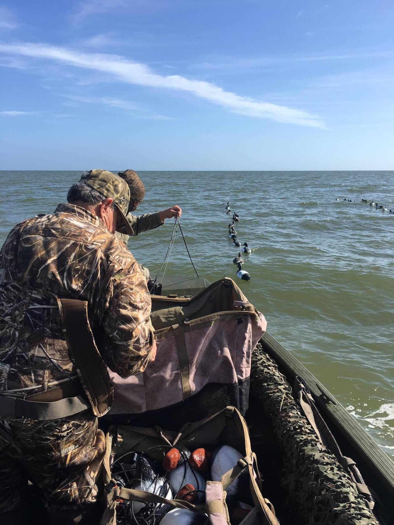 Weather forces duck hunters to work harder