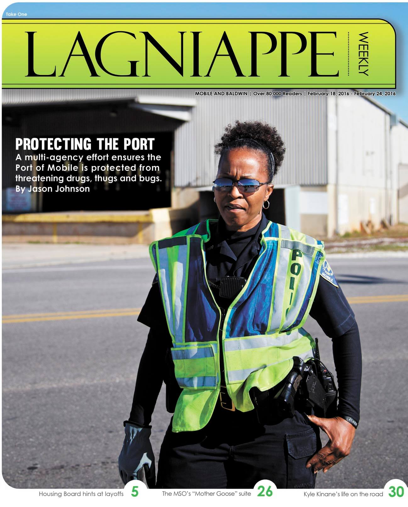 COVER STORY: 'Bugs, thugs and drugs': Stopping threats in Mobile's port