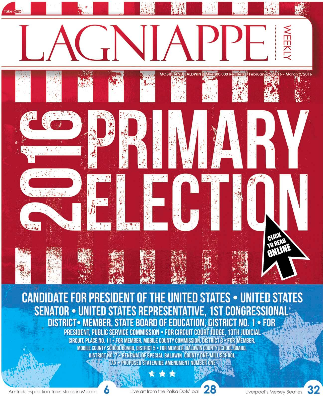 Lagniappe: Feb. 25 – March 2, 2016