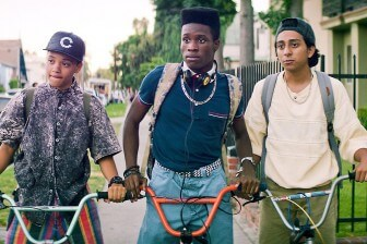 """(Photo   Forest Whitaker's Significant Productions) Life changes for Malcolm, a geek who's surviving life in a tough neighborhood, after a chance invitation to an underground party leads him and his friends into a Los Angeles adventure in """"Dope."""""""