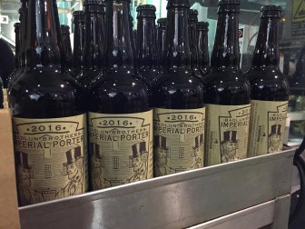 "(Photo | Courtesy of Alabama's Brewers Guild) Badlun Brothers Imperial Porter was ""conCeived and created by the members of the Alabama Brewers Guild to honor Alabama's first brewery, established by James and William Badlun of HuntSville in 1819."""