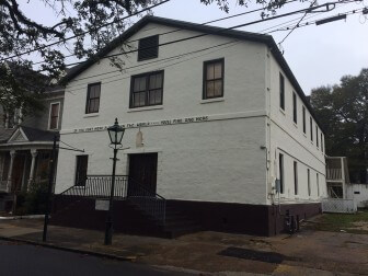 (Photo | Lagniappe) According to a recent neighborhood meeting, investors are interested in turning the former Waterfront Rescue Mission at 206 State St. in DeTonti Square into a brewpub and possible bed and breakfast.
