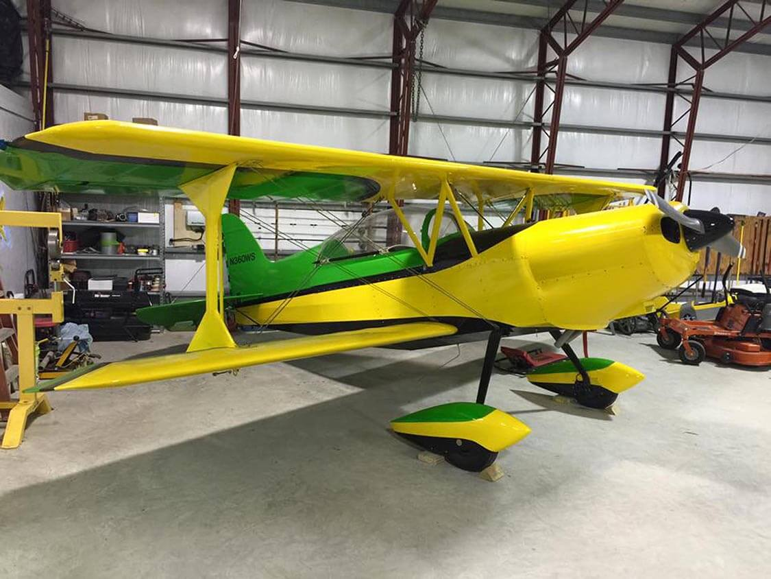 Family aircraft project offers 'many teaching moments'