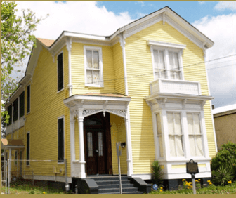 The home of Bettie Hunter, a black entrepreneur in late 1800s, is one of several stops on the Dora F. Finley African American Heritage Trail in Mobile. (maaht.org)
