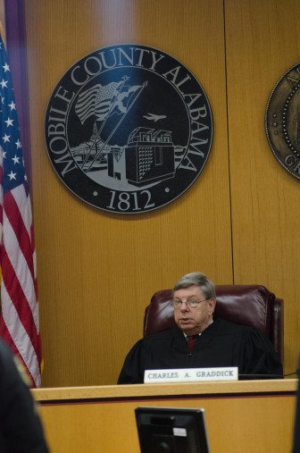 (Photo | Lagniappe) Presiding Mobile County Circuit Court Judge Charlie Graddick.